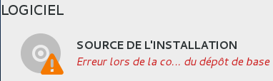 Source de l'installation