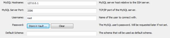 Configuration serveur MySQL